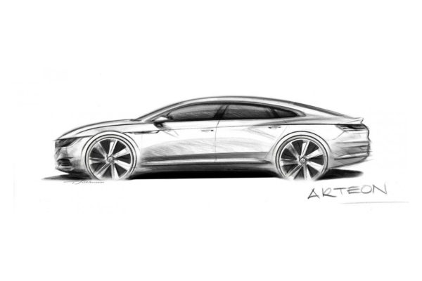 VW Arteon Studie