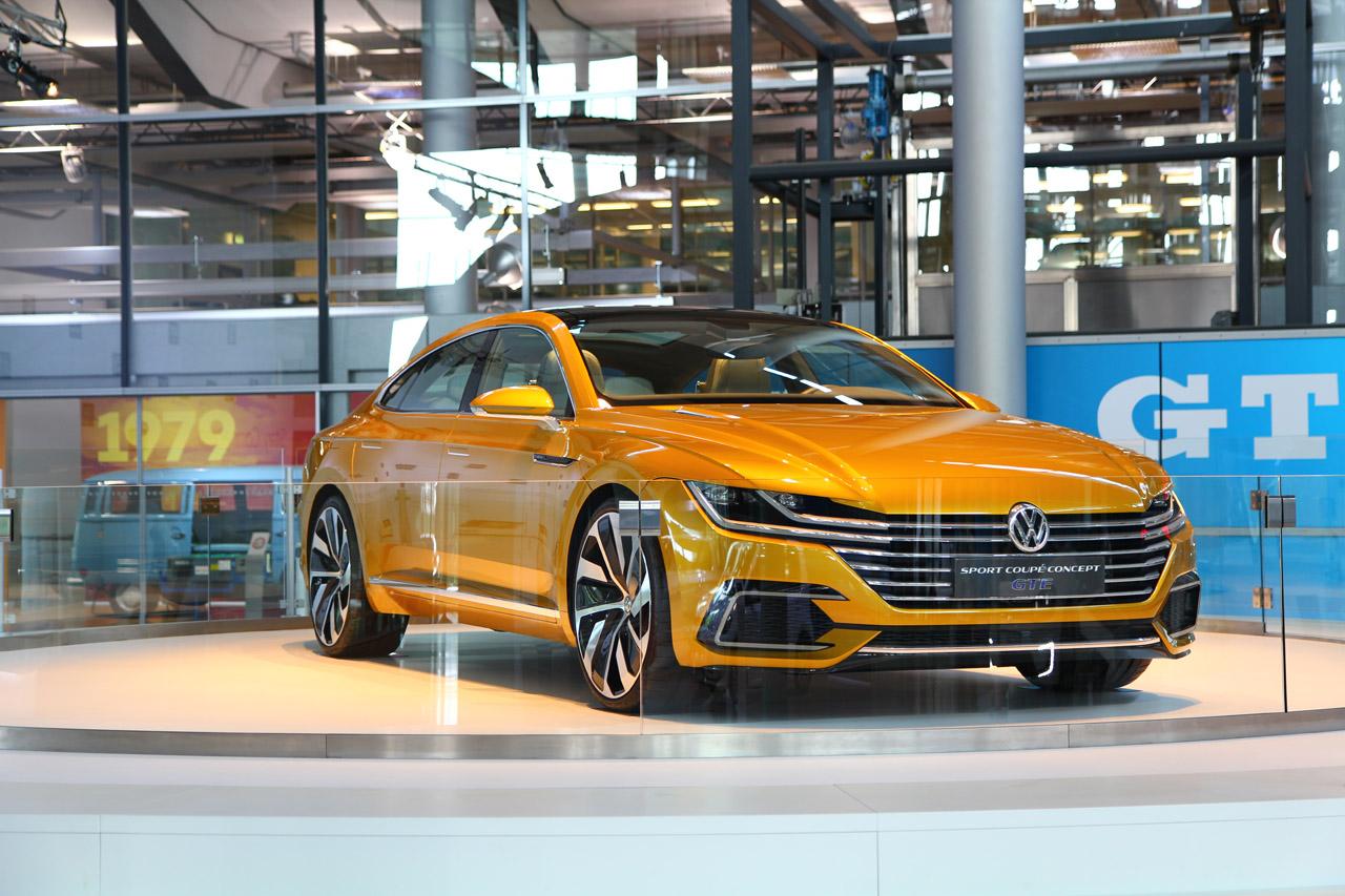 ... Anderen – das GTE Coupé-Concept sieht dem Arteon mehr als ähnlich Volkswagen Arteon