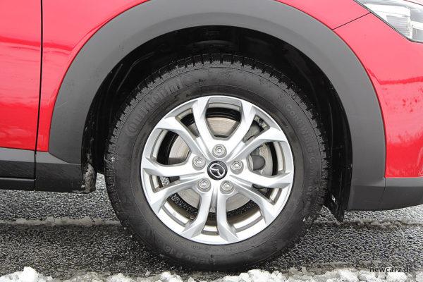 Mazda CX-3 Rad