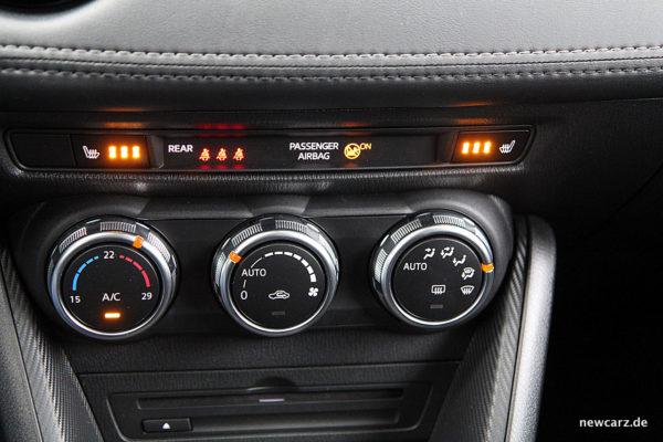 Mazda CX-3 Klimaanlage