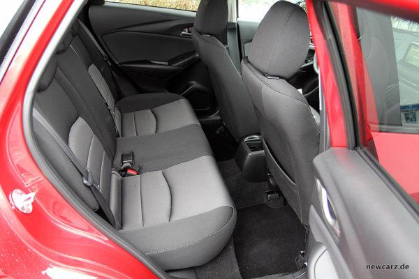 Mazda CX-3 Rückbank