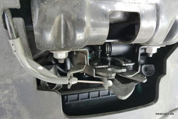 Renault Talisman Haubenverschluss