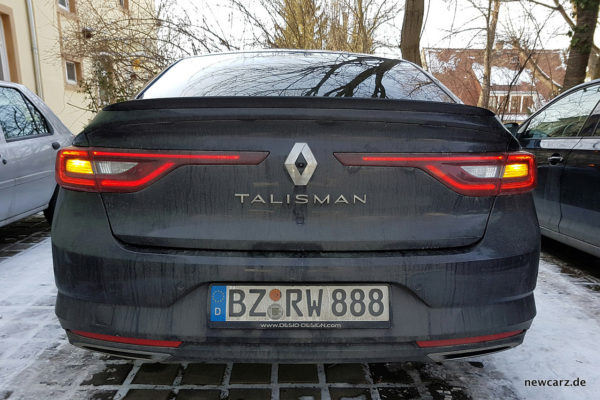 Renault Talisman Verschmutzt