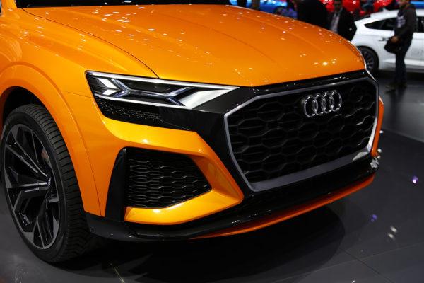 Audi Q8 Sport Concept Laserlight