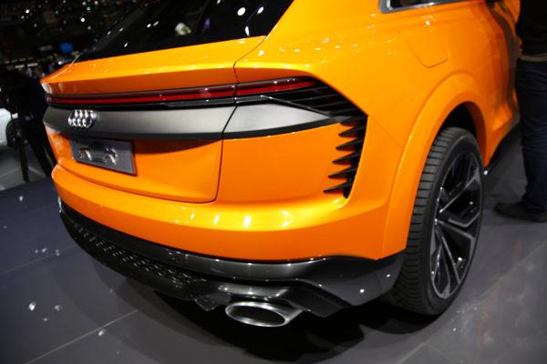 Audi Q8 Sport Concept Luftauslass