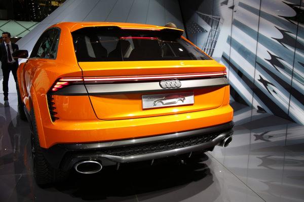 Audi Q8 Sport Concept Heck