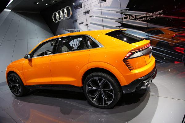 Audi Q8 Sport Concept hinten schräg