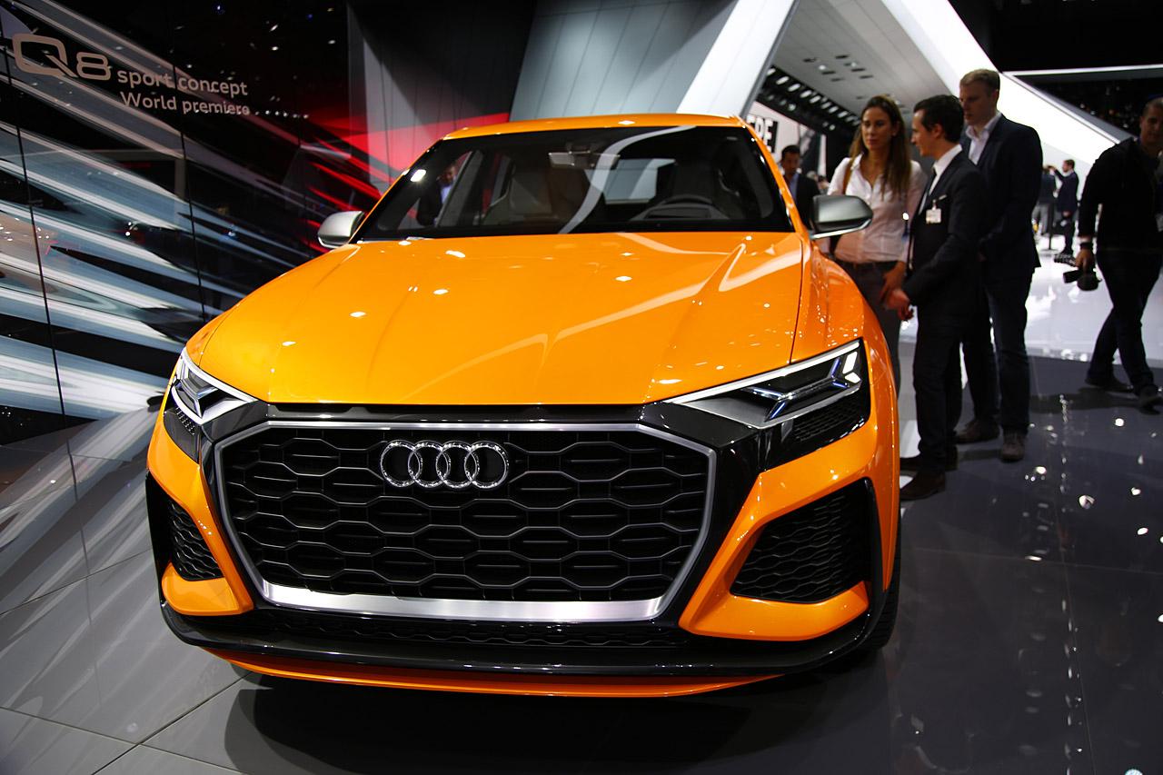 Audi Q8 Sport Concept Front