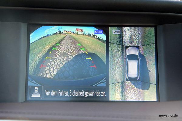 Infiniti Q30 Surround View