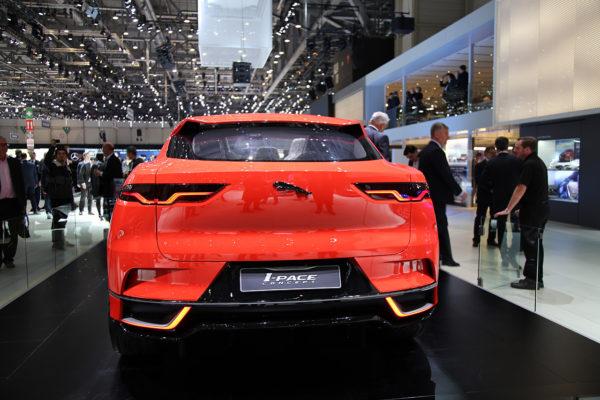 Jaguar I-Pace Concept Rearview