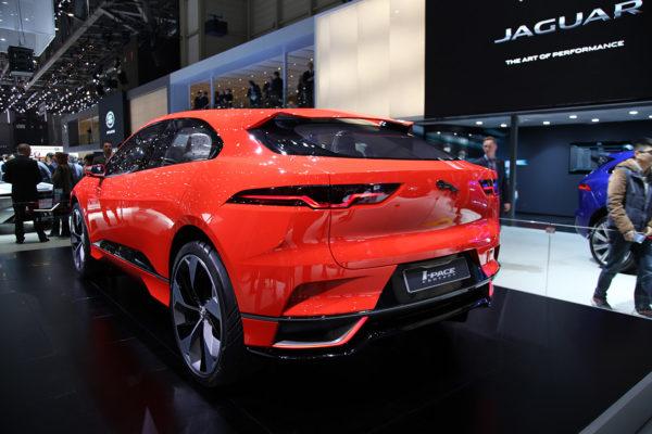 Jaguar I-Pace Concept Heck