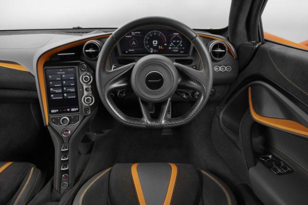 McLaren 720S Interieur