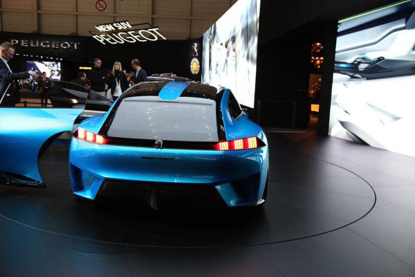 Peugeot Instinct Concept Heck