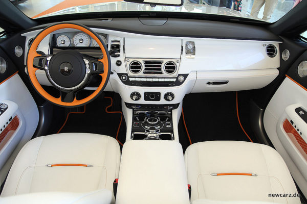 Rolls-Royce Dawn Inspired by Fashion Interieur