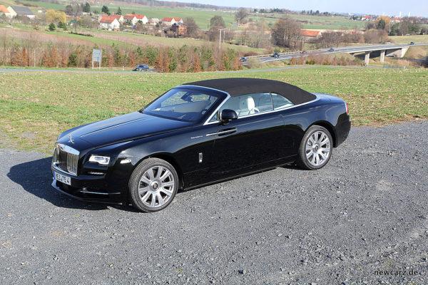 Rolls-Royce Dawn geschlossen