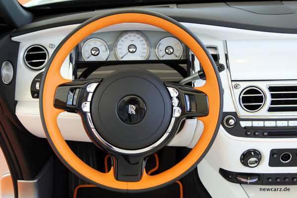 Rolls-Royce Dawn Lenkrad