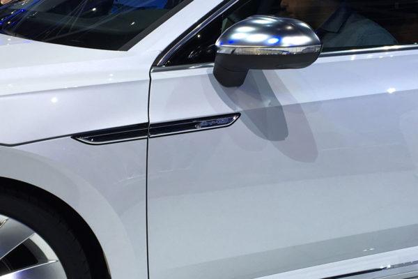 VW Arteon Genf Detailaufnahme