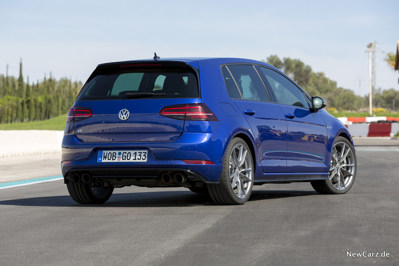 Erstkontakt Vw Golf 7 R Facelift Mit Biss Newcarz De