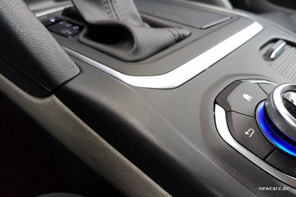 Renault Talisman Dauertest Mittelkonsole Gebrauchsspuren