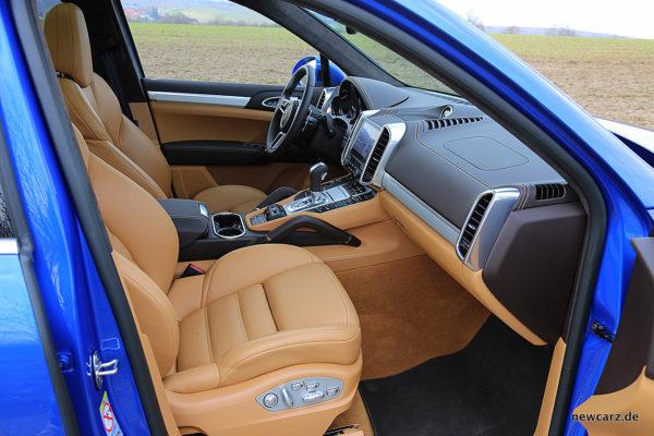Porsche Cayenne S Diesel Vordersitze