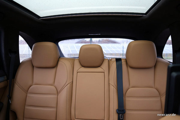 Porsche Cayenne S Diesel Blick nach hinten