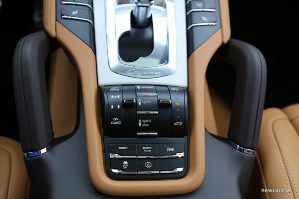 Porsche Cayenne S Diesel Fahrwerkssteuerung
