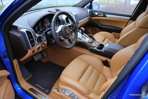Porsche Cayenne S Diesel Interieur