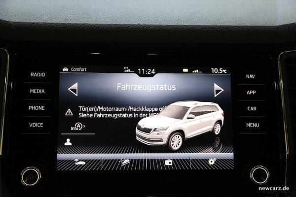 Skoda Kodiaq Touchscreen