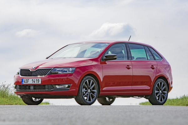 Skoda Rapid Spaceback Facelift