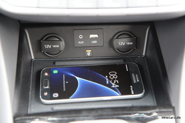 Hyundai IONIQ Hybrid Ladestation