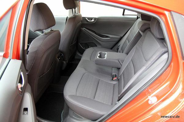 Hyundai IONIQ Hybrid Rückbank