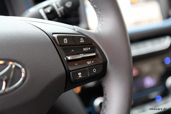 Hyundai IONIQ Hybrid Tempomat