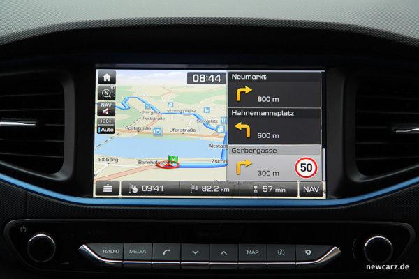 Hyundai IONIQ Hybrid Navi