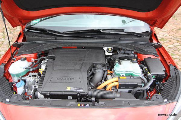 Hyundai IONIQ Hybrid Motorraum