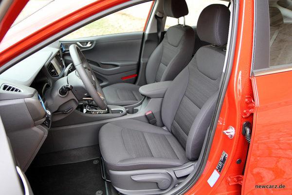 Hyundai IONIQ Hybrid Vordersitze