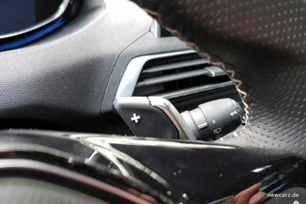 Peugeot 5008 Schaltwippe