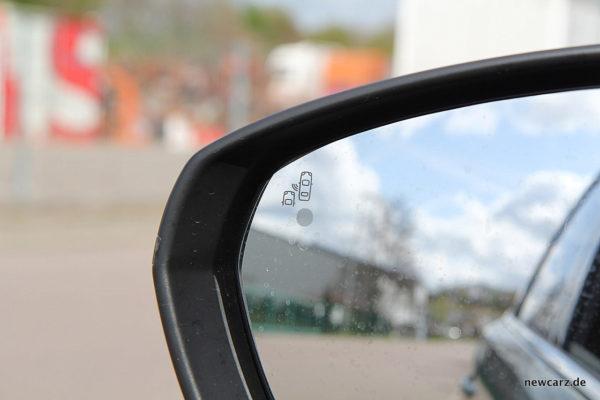 Peugeot 5008 Rückspiegel