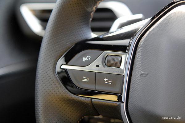 Peugeot 5008 Sprachsteuerung