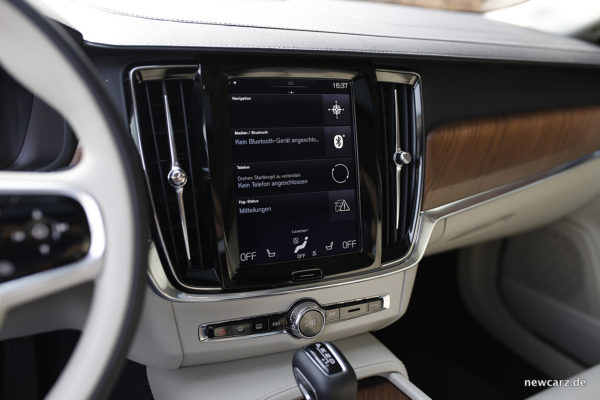 Volvo S90 Touchscreen