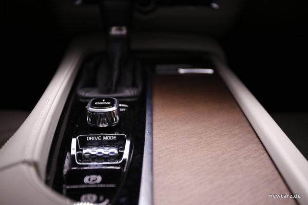 Volvo S90 Mittelkonsole