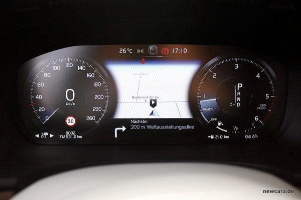 Volvo S90 Kombiinstrument