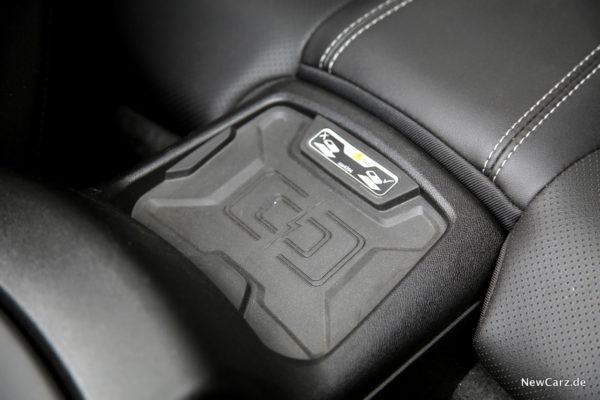 Chevrolet Camaro induktive Ladestation