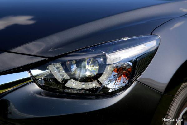 Mazda2 Scheinwerfer