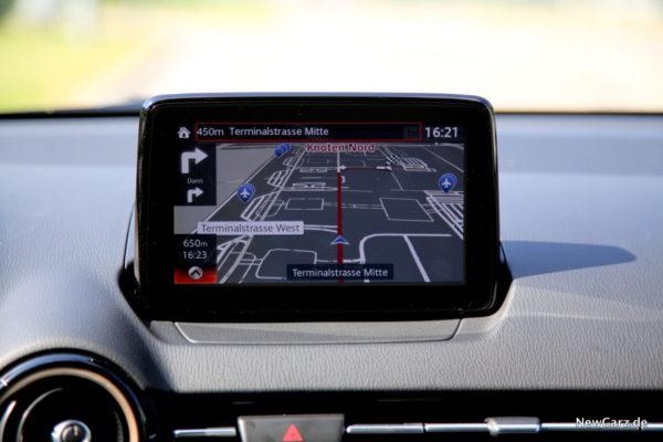 Mazda2 Navigationssystem