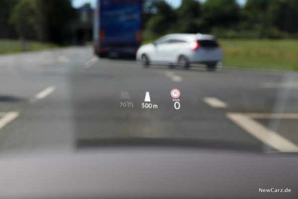 VW Arteon Head-Up-Display