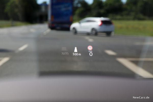 VW Arteon Head-Up-Display