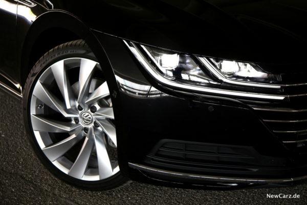 VW Arteon LED-Scheinwerfer