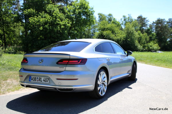 VW Arteon Heck