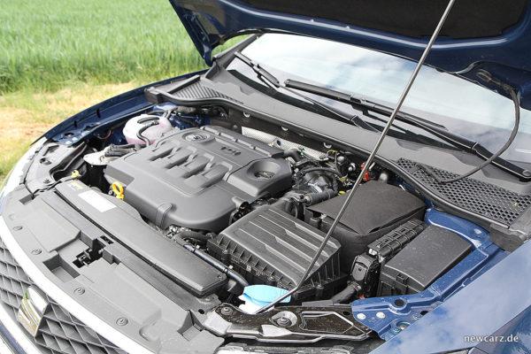 Seat Leon ST X-Perience Motorraum