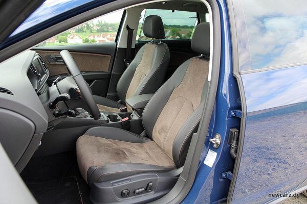 Seat Leon ST X-Perience Vordersitze